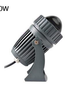 den-led-cot-nha-10w-chieu-roi-spotlight-ngoai-troi-chong-nuoc-ip65-dl-rc01