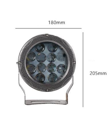den-led-cot-nha-36w-chieu-roi-spotlight-ngoai-troi-chong-nuoc-ip65-dl-rc01-size