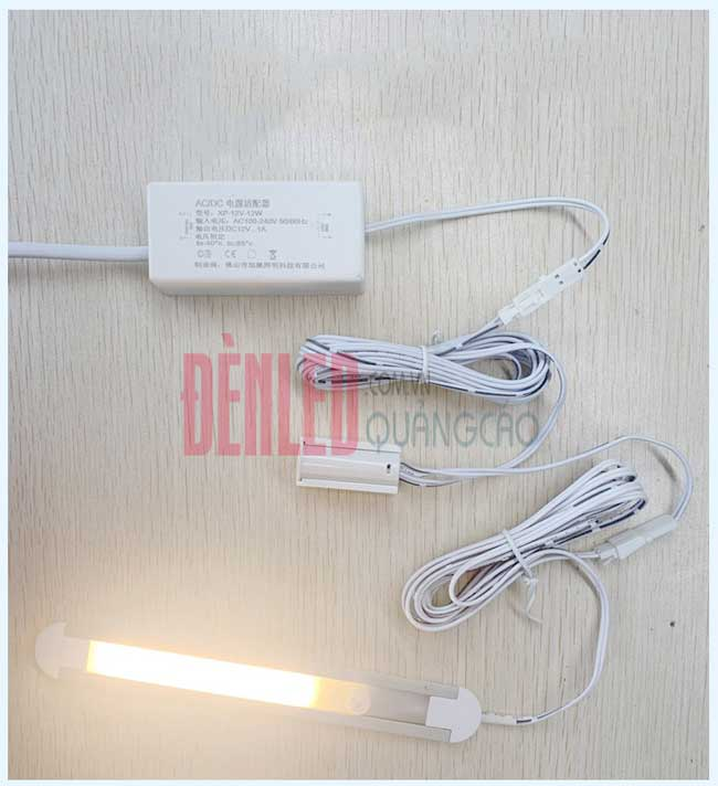 Cảm biến đóng mở tủ công tắc bật tắt đèn led 12v cao cấp DL-HW-V01T ứng dụng