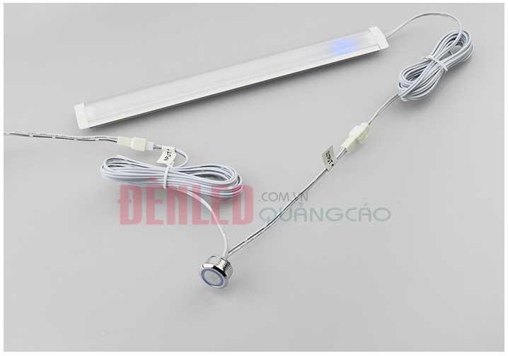 Công tắc cảm biến chạm tay tăng giảm sáng đèn led 12v cao cấp DL-HW01CT điều khiển đèn