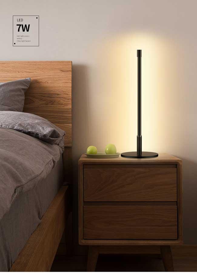 Đèn bàn hiện đại LED dimmer trang trí cao cấp TL-DN212 7w