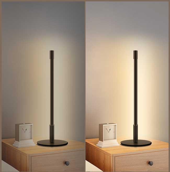 Đèn bàn hiện đại LED dimmer trang trí cao cấp TL-DN212 phòng ngủ