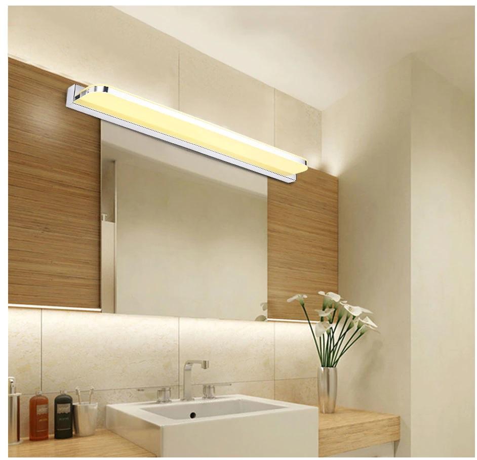 Đèn LED chiếu gương phòng tắm hiện đại cao cấp tại Hà Nội.