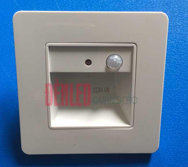 Đèn LED cảm biến âm tường chân bậc cầu thang 2w cao cấp DL-CT05