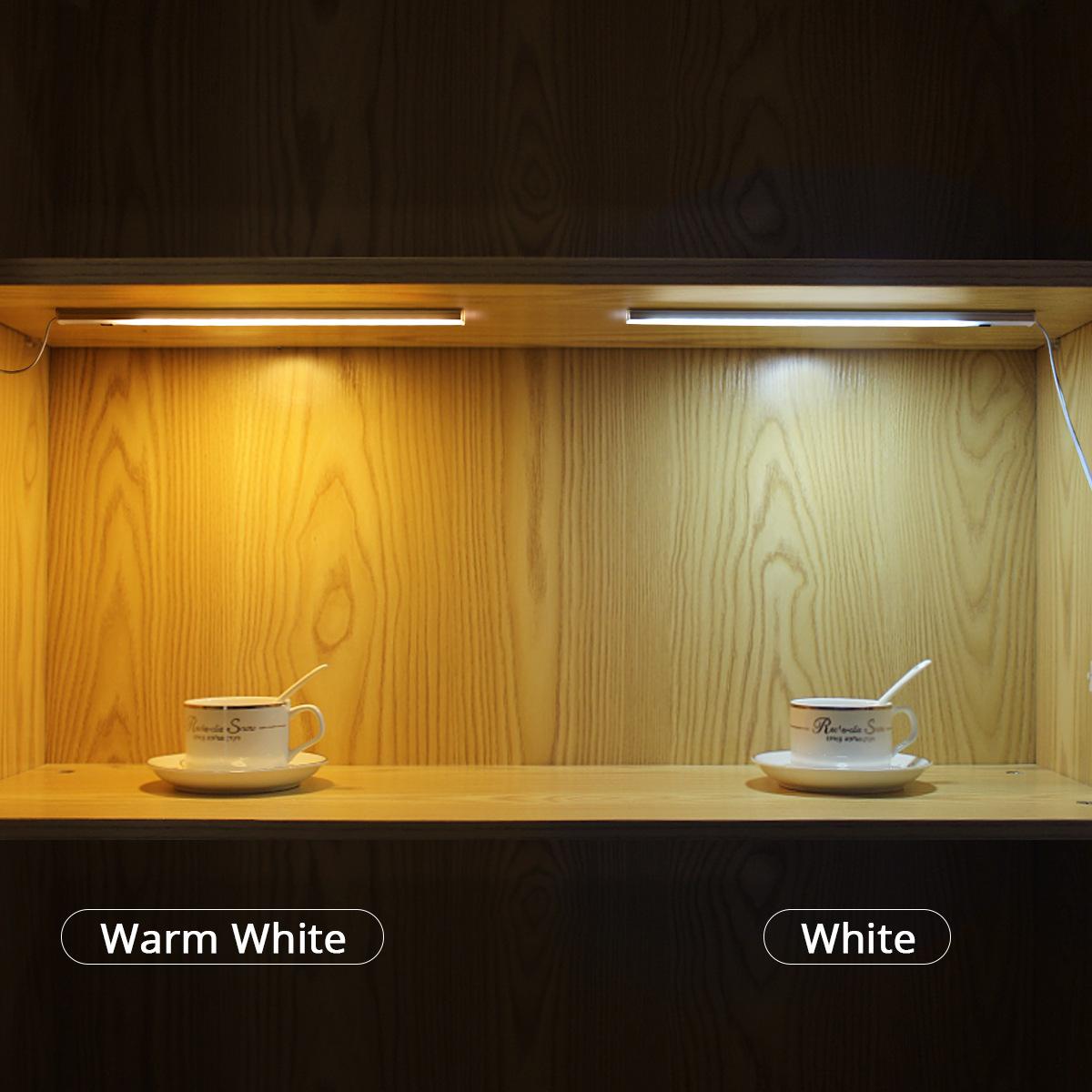 Đèn LED cảm biến vẫy tay 12v dài 30cm trang trí tủ kệ cao cấp DL-TBV-01