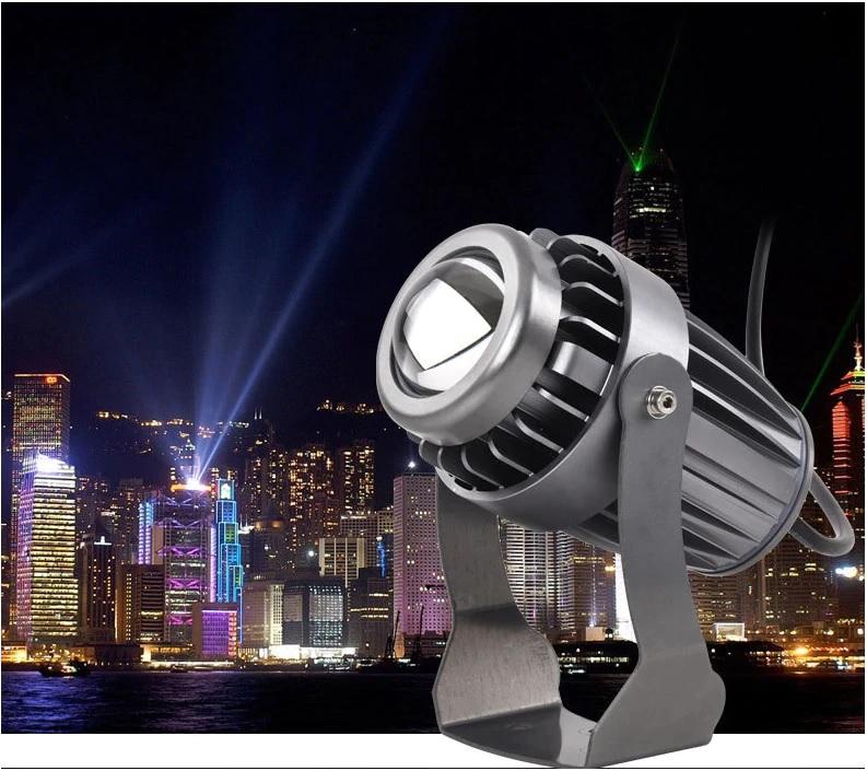Đèn LED chiếu cột nhà 10w ngoài trời chống nước IP65 DL-RC01S