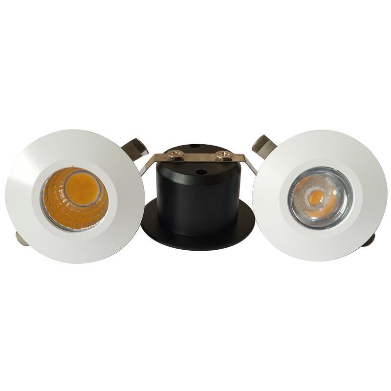 Đèn LED downlight COB mini âm trần tủ bếp, tủ rượu, tủ kệ trưng bày, tủ quần áo cao cấp D35mm TL-SPL01 all