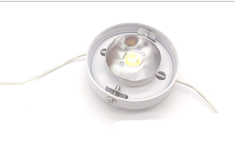 Đèn LED downlight COB mini gắn trần tủ bếp, tủ rượu, tủ kệ trưng bày, tủ quần áo cao cấp chi tiết 75xH18mm TL-TUR01