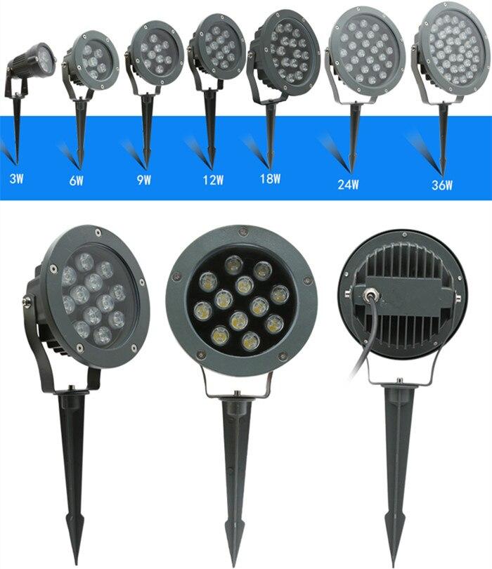 Đèn LED rọi cây 6w chống nước trang trí sân vườn ngoài trời IP65 DL-RCC02-1