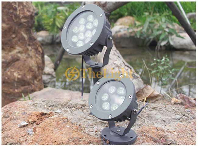 Đèn LED rọi cây 6w chống nước trang trí sân vườn ngoài trời IP65 DL-RCC02