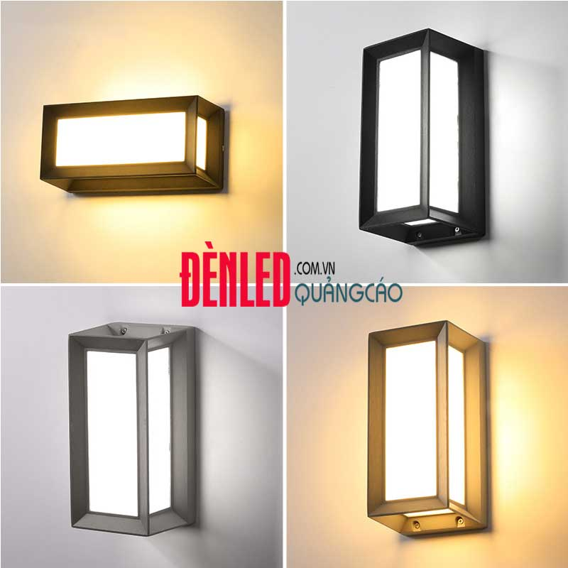 Đèn treo tường LED hiện đại 12w ngoài trời