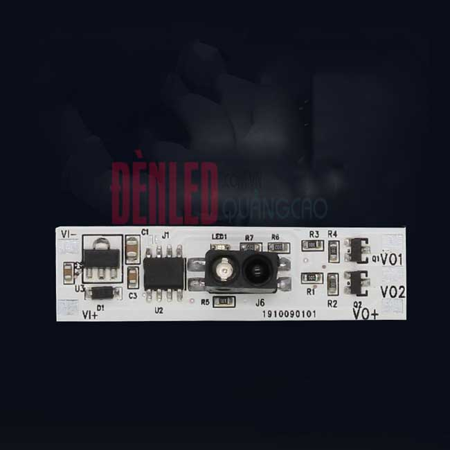 Mạch cảm biến vẫy tay công tắc bật tắt đèn led thanh nhôm 12v cao cấp DL-HZ-02-1